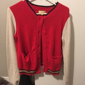 Letterman sweater